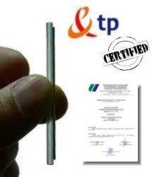 certyficate fiber splice sleeve